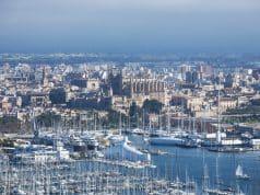 Panorámica bahía de Palma de Mallorca