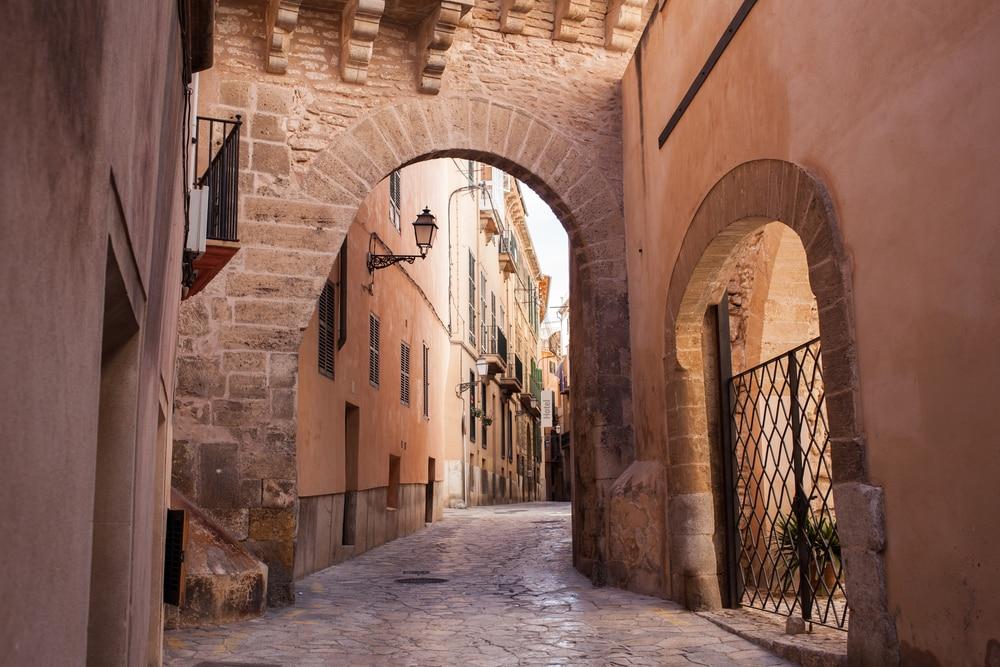 Calle casco hstórico de Palma Mallorca