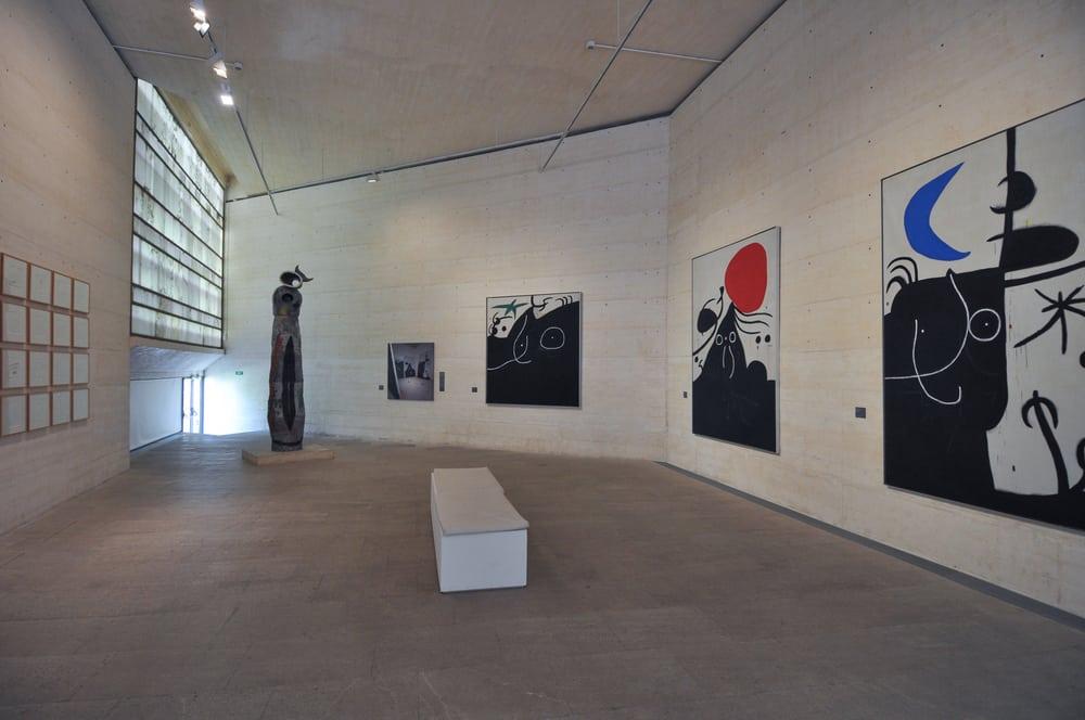 Sala de exposiciones Fundación Joan Miró Palma de Mallorca