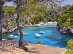 Fondear en Mallorca, Cala Pi