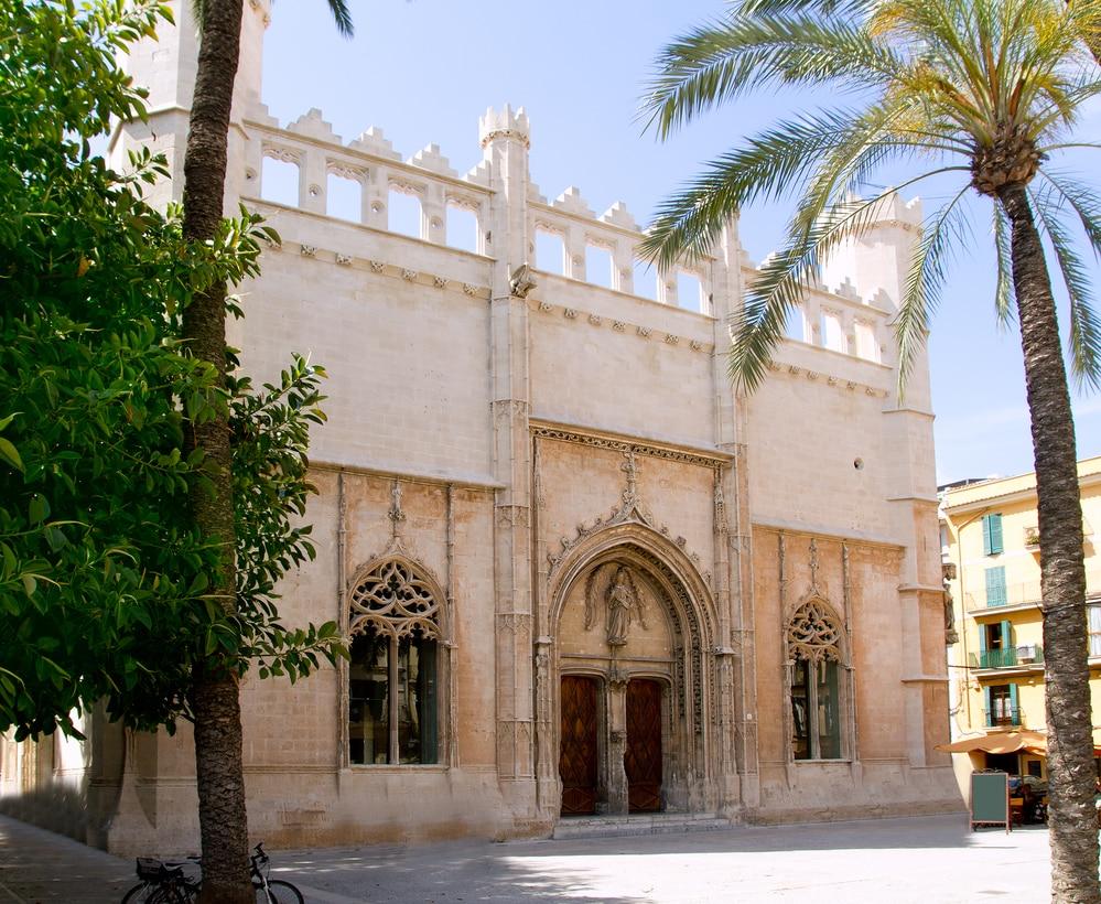 Monumento de la Lonja en Palma de Mallorca