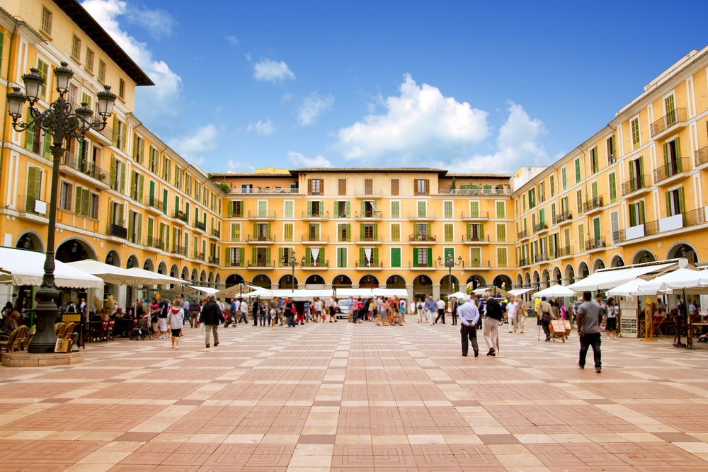 Plaza Mayor de Palma de Mallorca