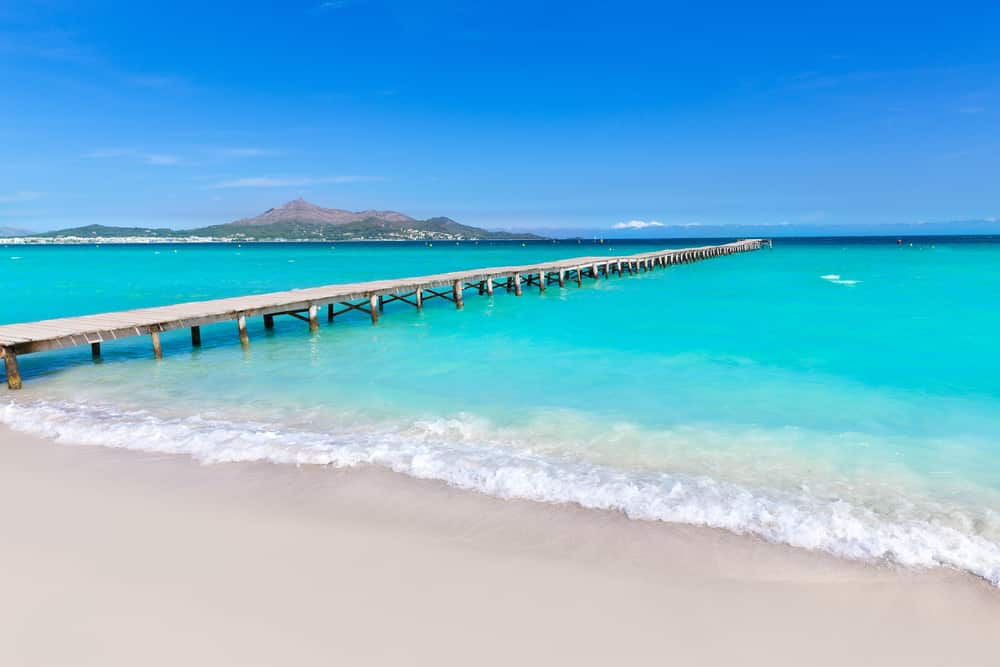 Playa de Muro en Alcudia, Mallorca, Islas Baleares