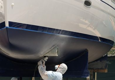 La pintura antifouling en el mantenimiento del barco