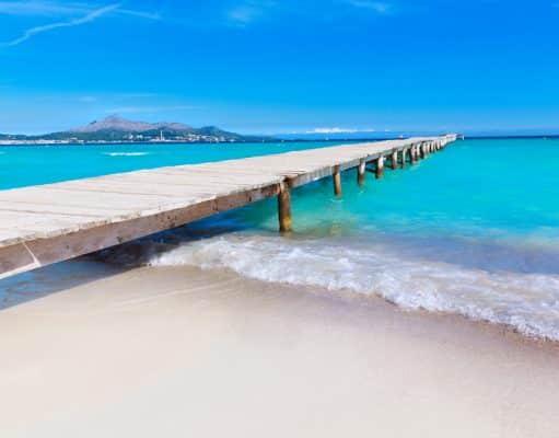Que ver en Mallorca, playa de Muro
